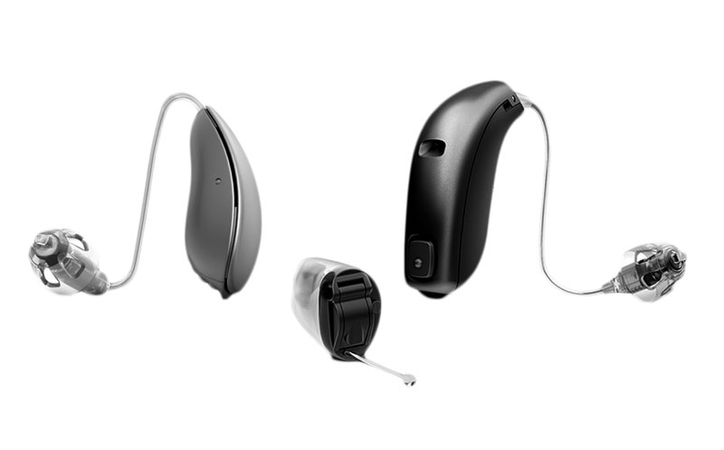 three different hearing aids - El Paso TX